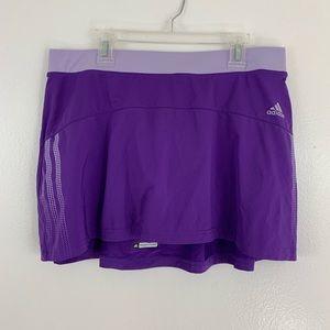 Adidas response climate skirt skort purple M